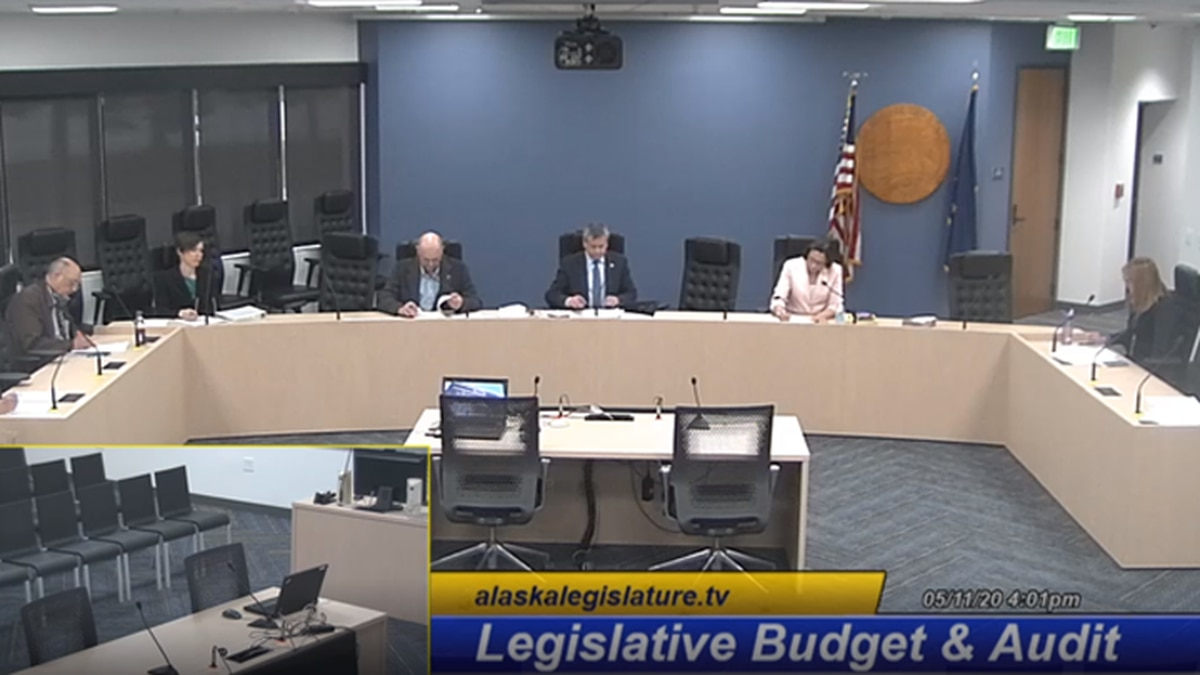 The Legislative Budget & Audit Committee discusses the appropriation of CARES Act funds...