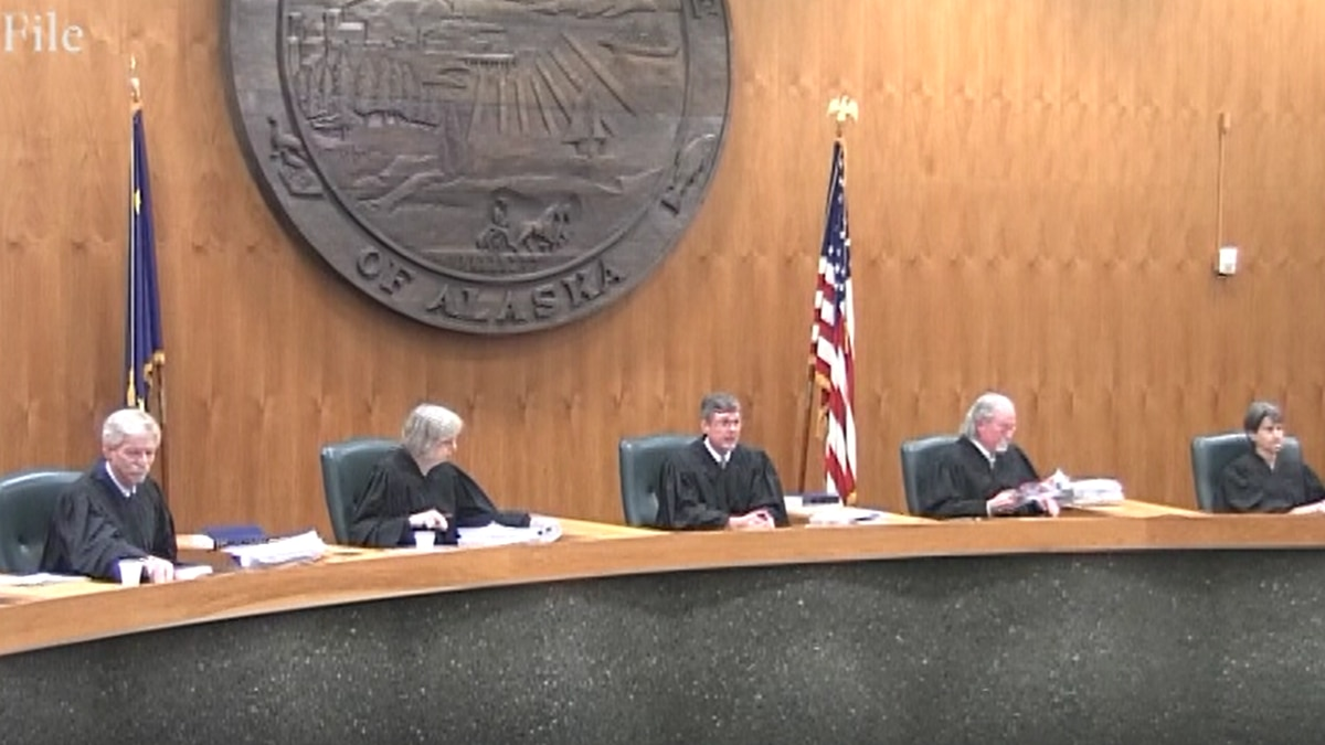 File Photo of the Alaska Supreme Court (KTVF)