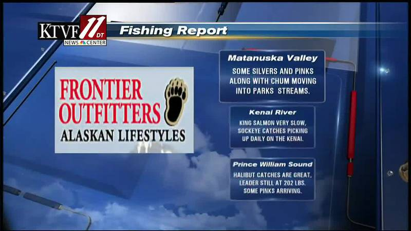 Fishing Report on the Fairbanks Evening News.