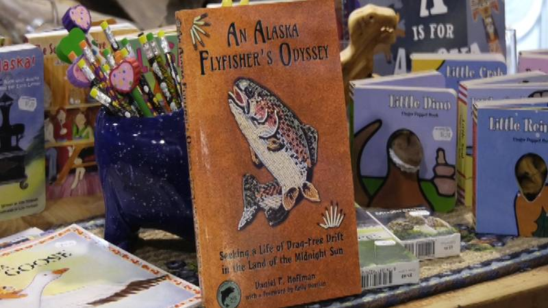 """Flyfishing as a metaphor for life, according to a new book, """"An Alaska Flyfisher's Odyssey,""""..."""