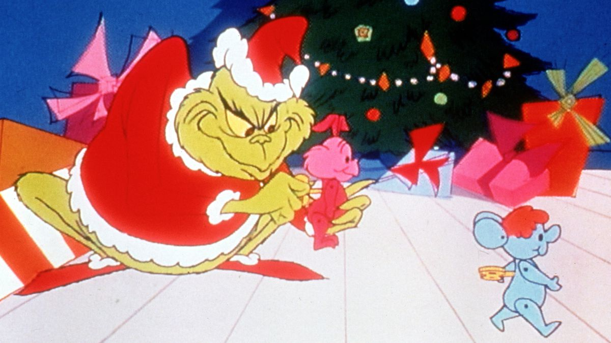 "HOW THE GRINCH STOLE CHRISTMAS! -- Pictured: ""How the Grinch Stole..."