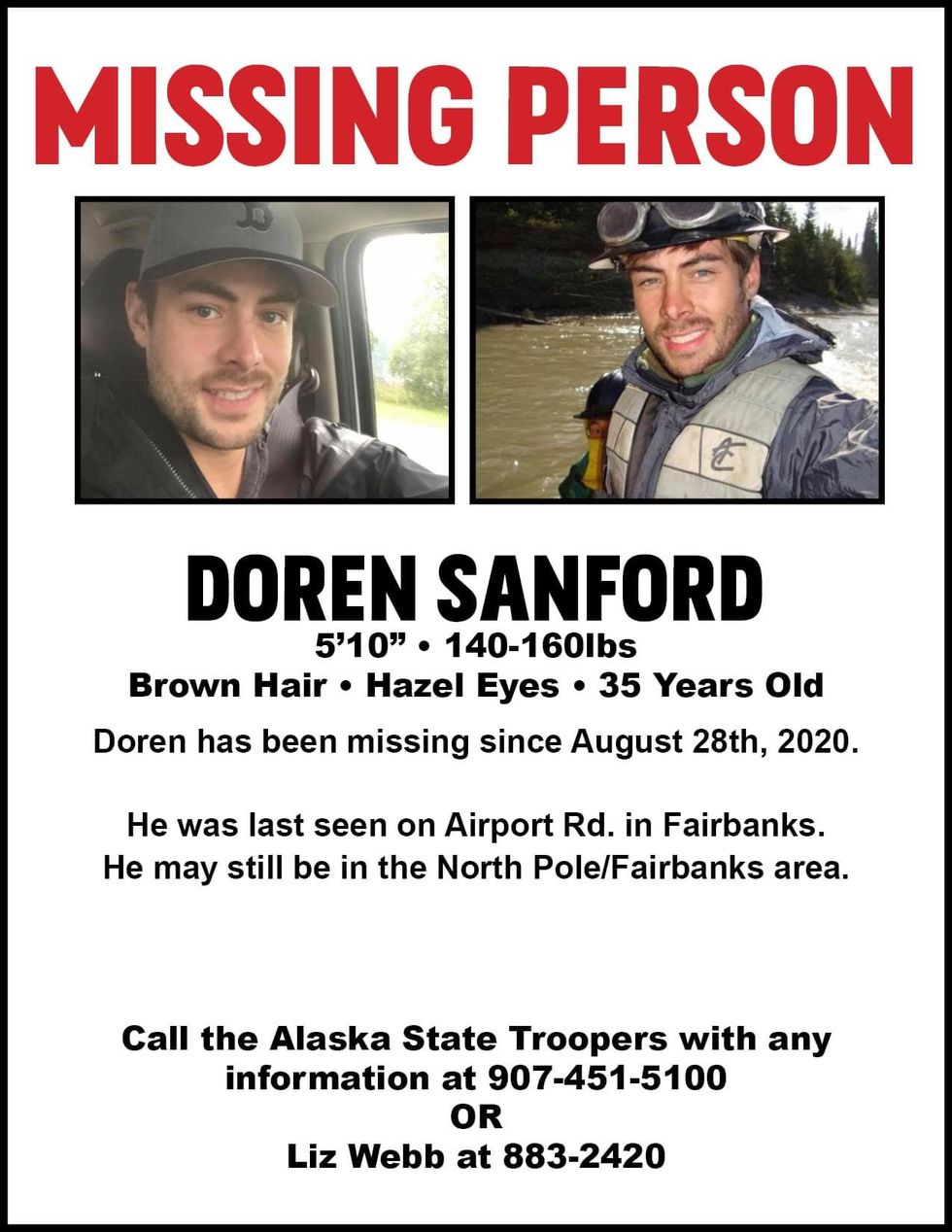 Alaska State Troopers are seeking information on a man who has gone missing.