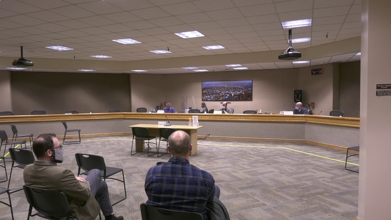 The Fairbanks North Star Borough Planning Commission voted on a proposed highway intersection...