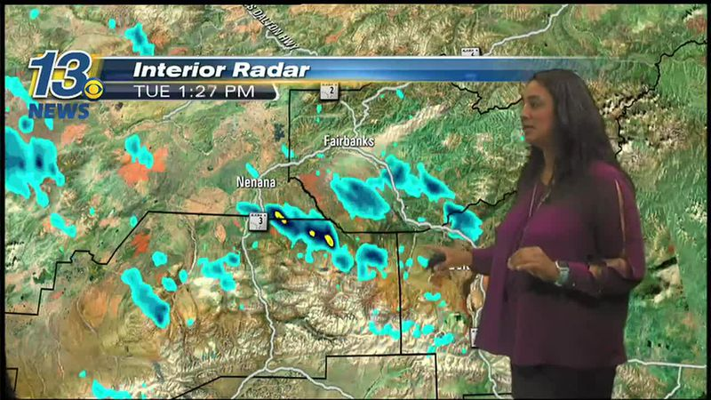 Julie Swisher weather map