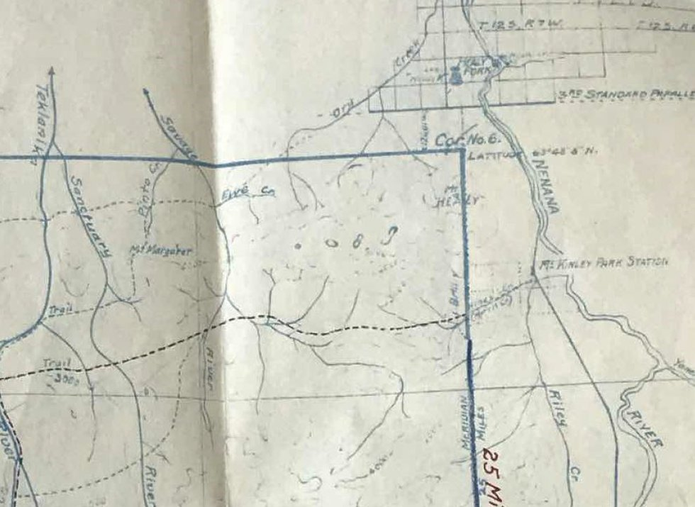 """""""Preliminary Map"""" by Woodbury Abbey in 1922"""