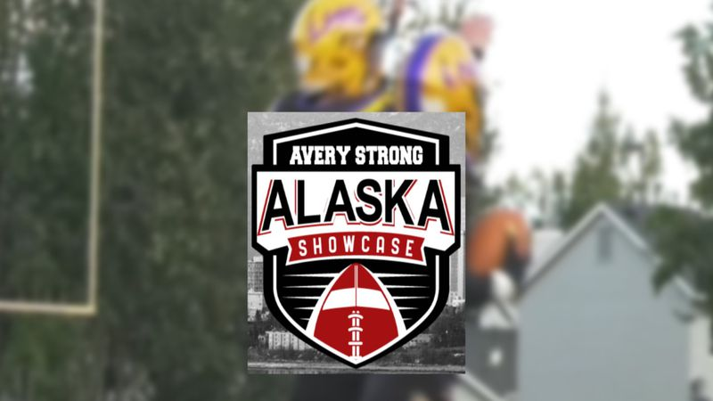 Two Lathrop High School football players competed at the Avery Strong Showcase in Anchroage.