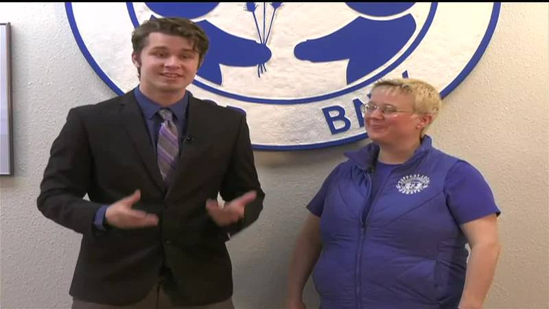 RYAN OSBORNE WAS AT THE FAIRBANKS COMMUNITY FOOD BANK TO CATCH US UP ON THIS YEAR'S MAY NO...