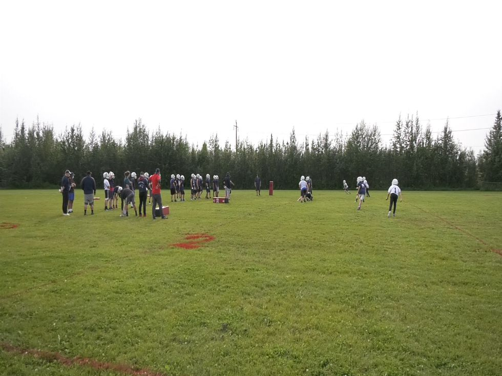 North Pole Patriots open their 2020 training camp.