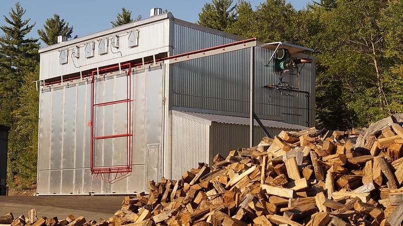 Aurora Energy Solutions will be constructing a wood kiln in Fairbanks similar to this one as...