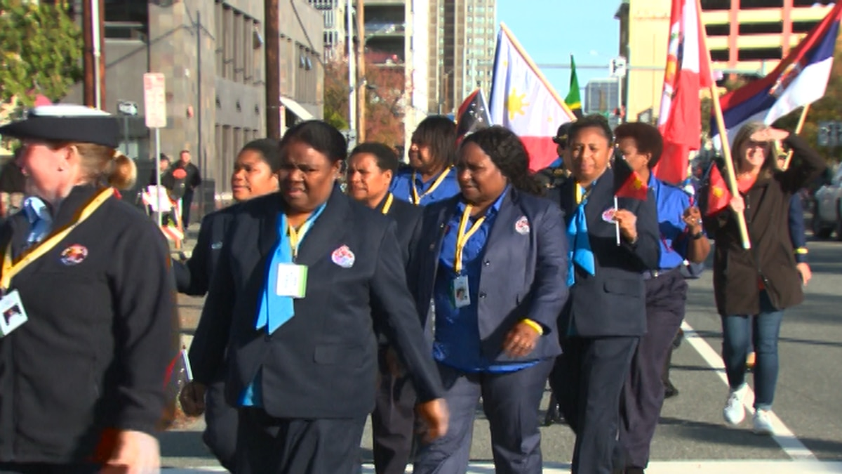 The 57th annual International Association of Women Police Conference began today in Anchorage. (KTUU)