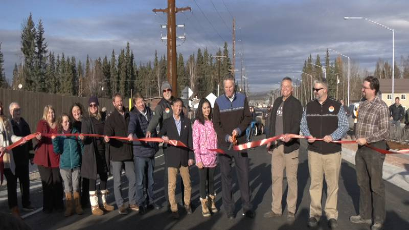Stakeholders, politicians, local leaders and community members celebrated the opening of...