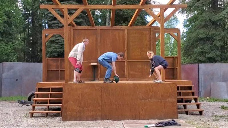 """Starting Friday, July 16, Fairbanks Shakespeare Theatre is performing the """"Complete Works of..."""