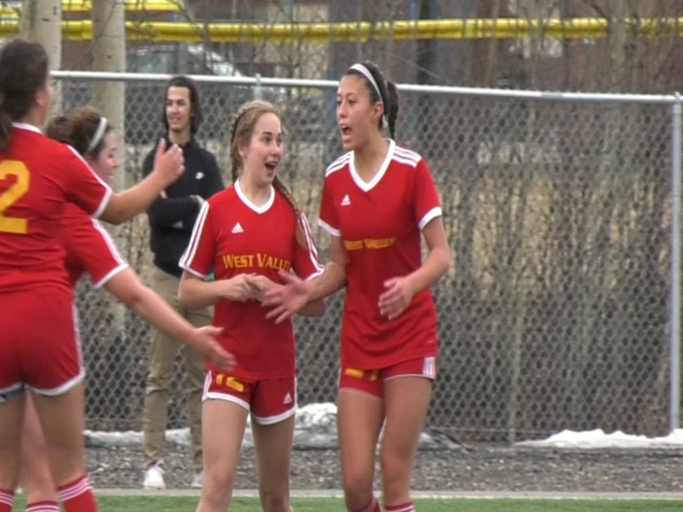 West Valley's Aubrey Stacy was named the 2020-21 Alaska Gatorade Player of the Year in girls...