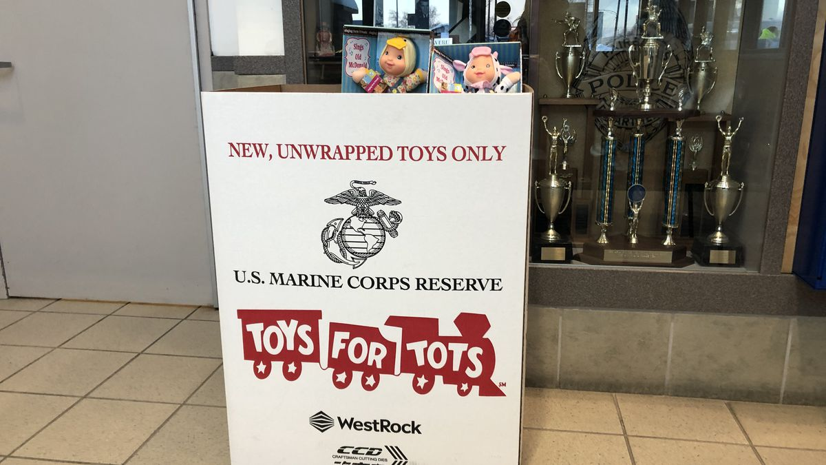 In Fairbanks, toy donations are being accepted around town to help families in need this holiday season. One of those toy drives is 'Toys for Tots' run by the U.S. Marine Corps Reserves.  (Sara Tewksbury/KTVF).