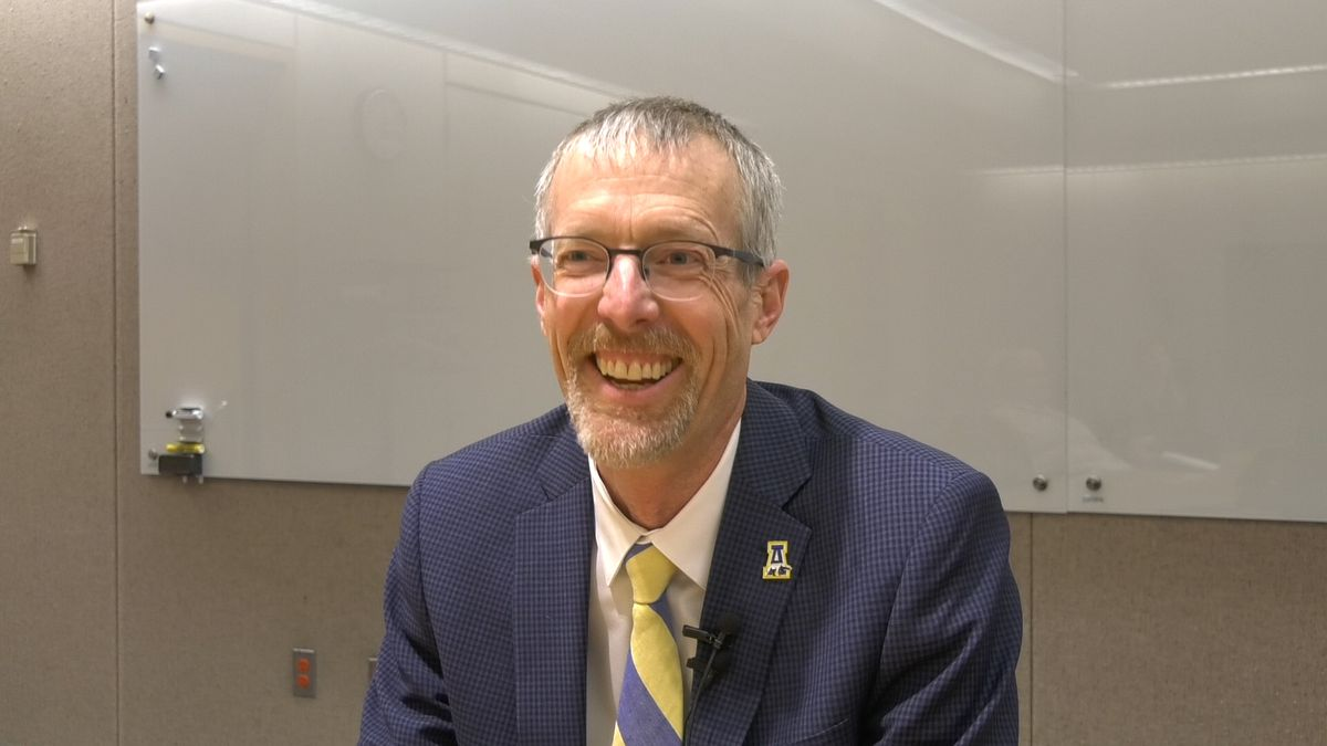 UAF Chancellor Dan White is one of three finalist to be president at the University of...
