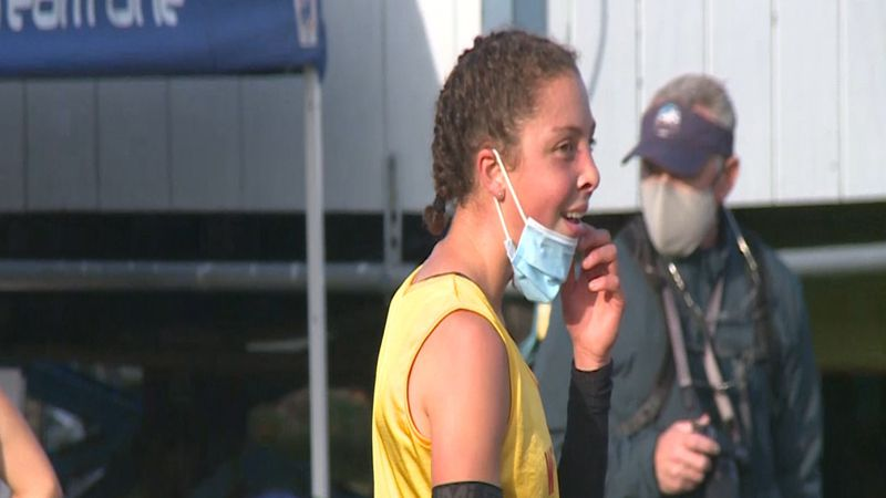 Naomi Bailey is the Alaska Gatorade Player of the Year for Girls Cross-Country Running (Photo...