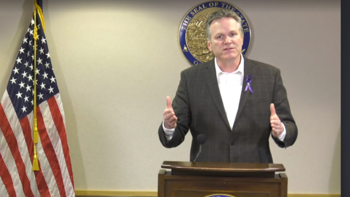 Governor Mike Dunleavy (File Photo)