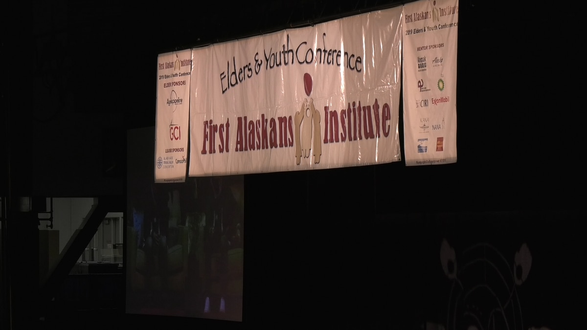 First Alaskans Institute, a native nonprofit organization, is holding their 36th Annual Elders and Youth Conference in Fairbanks. It began Sunday at noon at the Carlson Center and will continue until Wednesday October 16th.