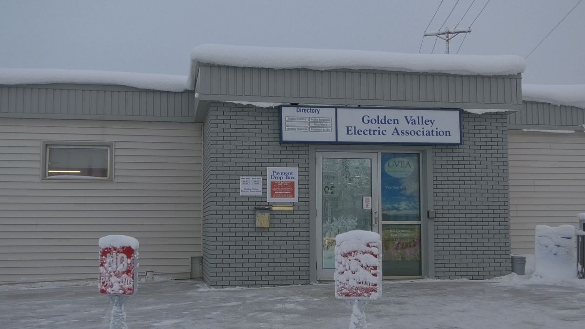 Golden Valley Electric Association has temporarily closed it's offices and delayed late fees and service disconnects due to the coronavirus. (John Dougherty/KTVF)