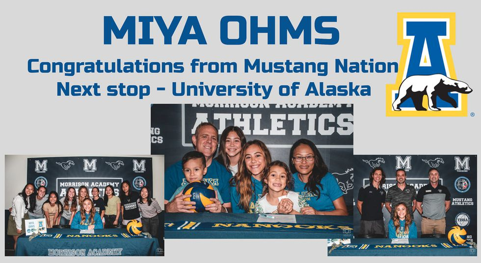Miya Ohms announcement on signing with the Alaska Nanooks.