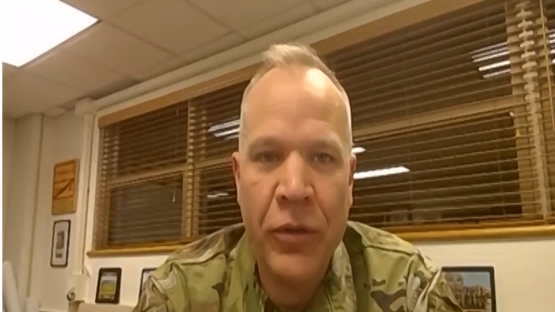 Colonel Christopher Ruga of Fort Wainwright