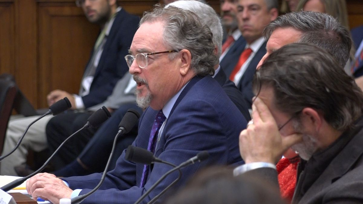 Tom Collier, Pebble Mine Partnership CEO, testifies before Congress about the future of the...