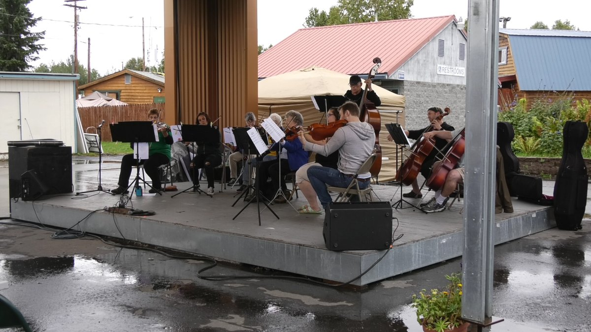 Behind the sights and sounds of the Tanana Valley State Fair, local artists work to bring live...