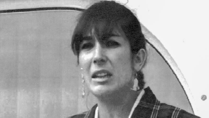 FILE - In this Nov. 7, 1991, file photo, Ghislaine Maxwell, daughter of late British publisher...
