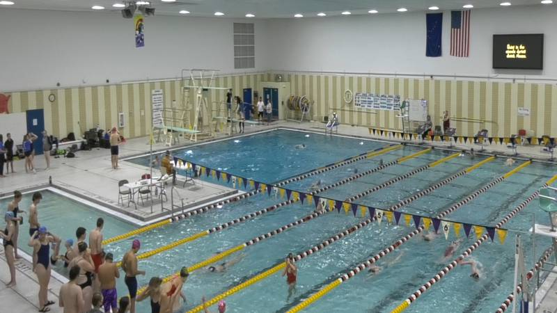 Region VI swimmers dove into Hamme Pool this past weekend as the season gets rolling.