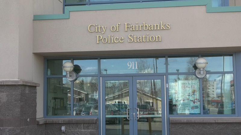 City of Fairbanks Police Station entrance