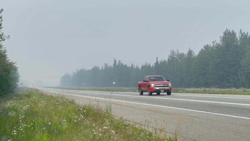 Smoke produced by Alaska's summer wildfires can cause myriad negative health effects if inhaled...