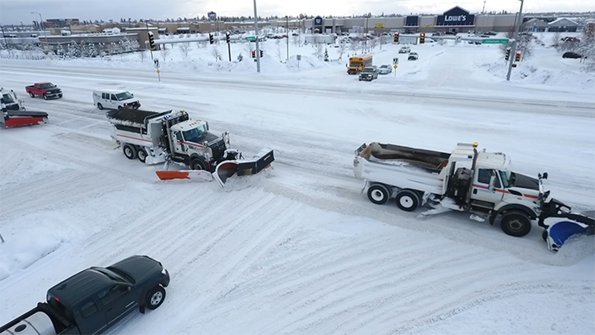 Drivers are getting caught in the middle of snow removal caravans, and according to the...