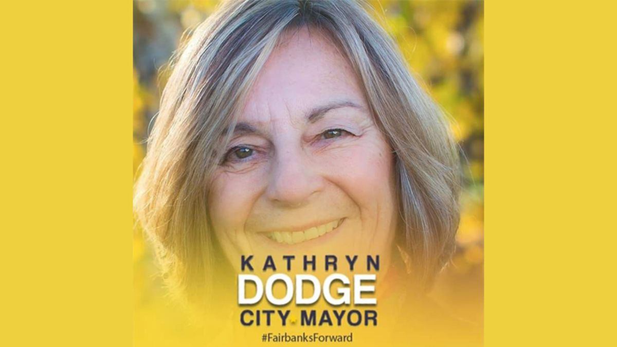 According to mayoral candidate Kathryn Dodge, Fairbanks is in need of direction. (Photo Courtesy Kathryn Dodge via Facebook)