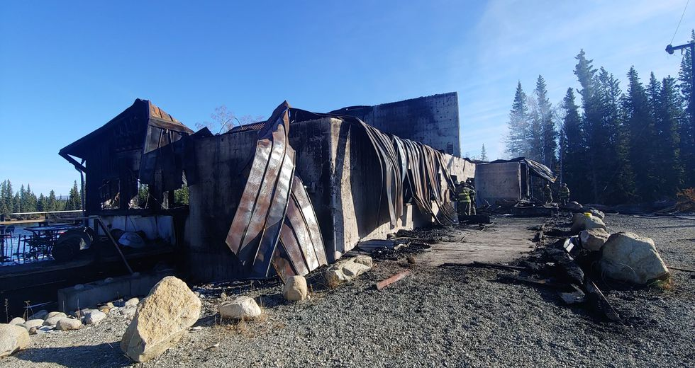 In the early hours of Tuesday morning the Clearwater Lodge in Delta Junction caught fire.