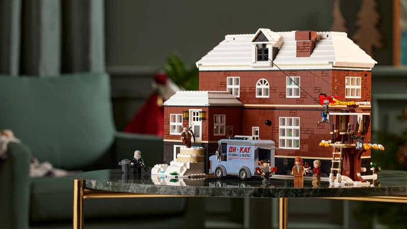 The set has nearly 4,000 pieces and comes with five minifigures and is available Nov. 1 – just...