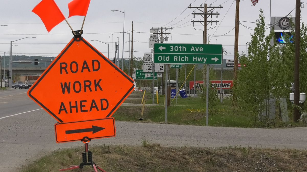 Road work has begun on the Old Richardson Highway as the summer construction season is in full...