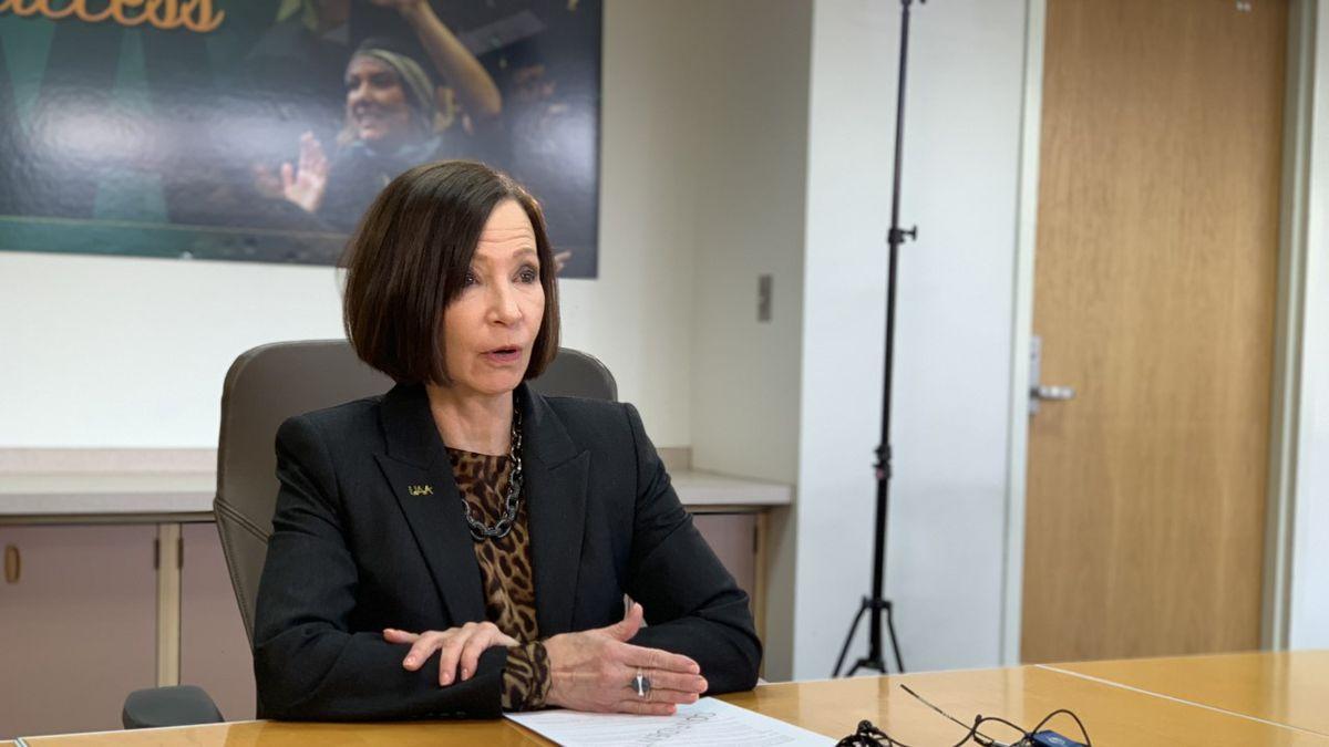 UAA Chancellor Cathy Sandeen (KTUU)