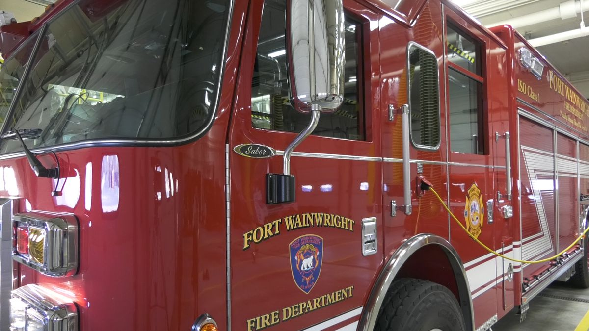 The Fort Wainwright Fire Department is a civilian operated department on a military installation.