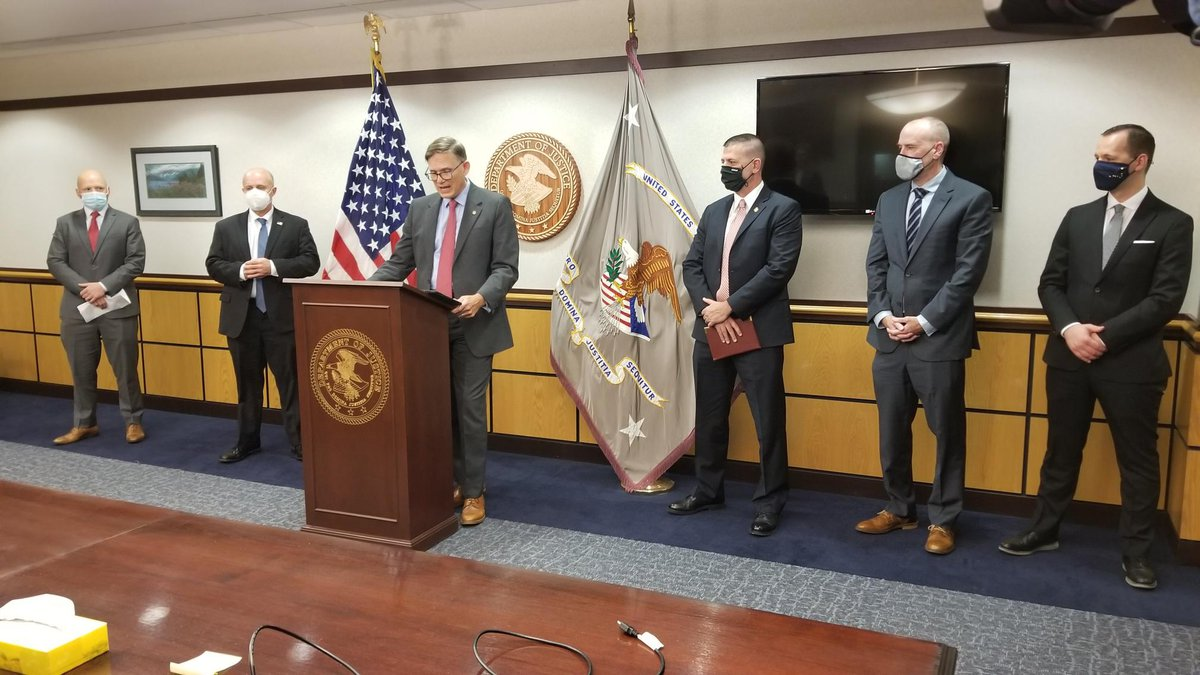 Multiple agencies announce the arrest and indictment of Miguel Guevara, a U.S. citizen accused...