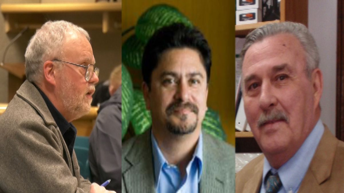 Michael Prax, Thomas Studler, and Frederick Villa, were selected as candidates for the House...