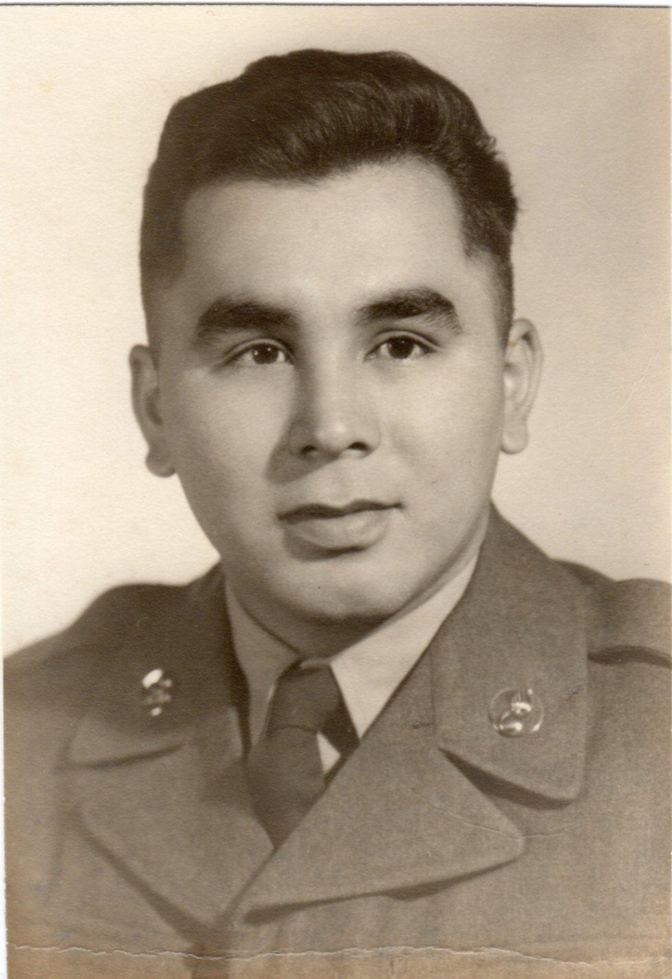 Portrait of Sgt. 1st Class Herber Alex. (Alaska National Guard Courtesy Photo)