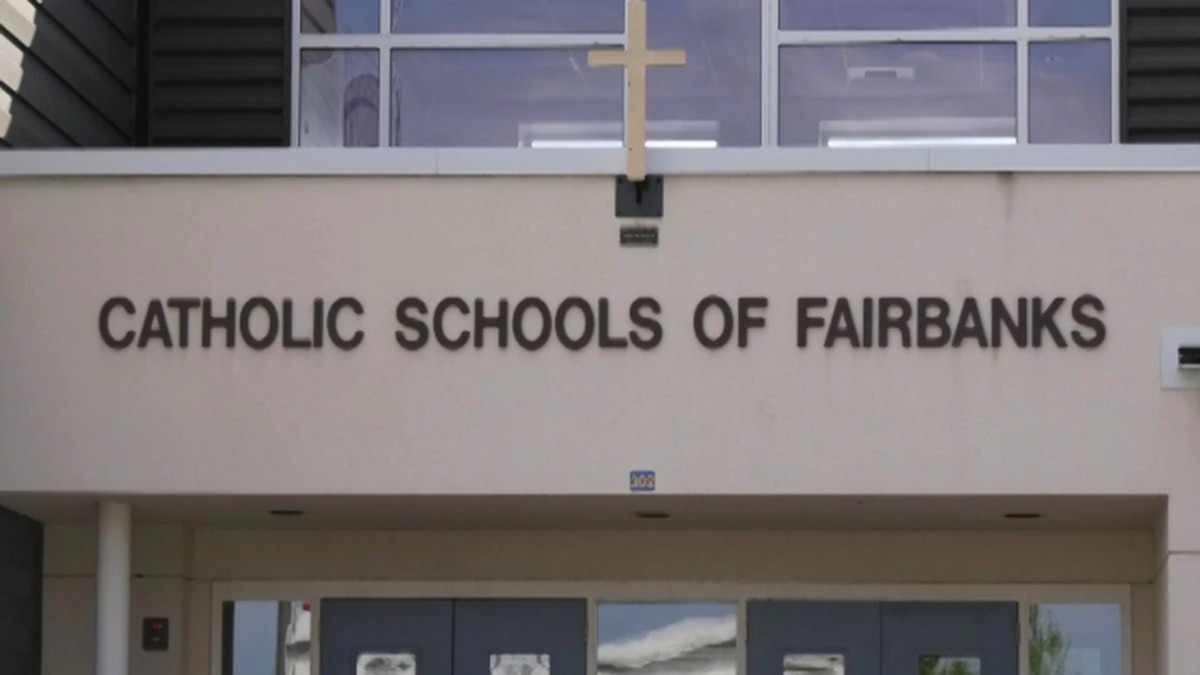 Two students and two athletic coaches have tested positive for COVID-19 at at the Catholic Schools of Fairbanks.