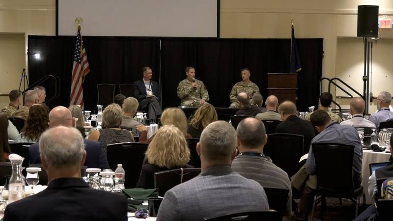Members of Alaskan communities came to Fairbanks to participate in the Alaska Defense Forum to...