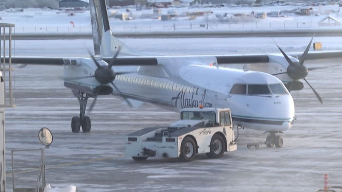Fairbanks International Airport attributes to one in thirteen jobs, contributing significantly to local rates of employment. (Carly Sjordal/KTVF)