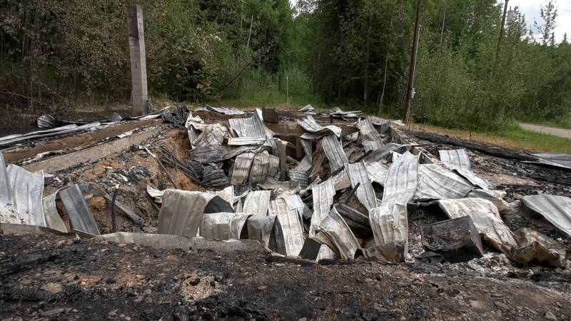 Two Grange Hall burned down on Saturday morning in Two Rivers. Alaska State Troopers have ruled...