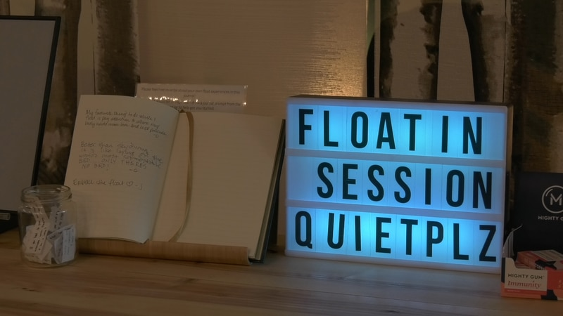 Sensory deprivation or float therapy requires the absence of any and all noise and light to...