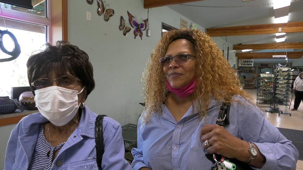 Vivian Miller was at Holm Town Nursery with her daughter Anita to buy some plants. Anita said...