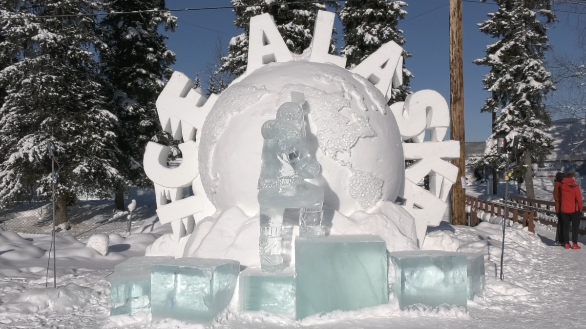 Ice Alaska is featuring many ice sculptures in the 2021 World Ice Art Championship.