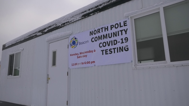 The City of North Pole has opened a free location for COVID-19 testing.