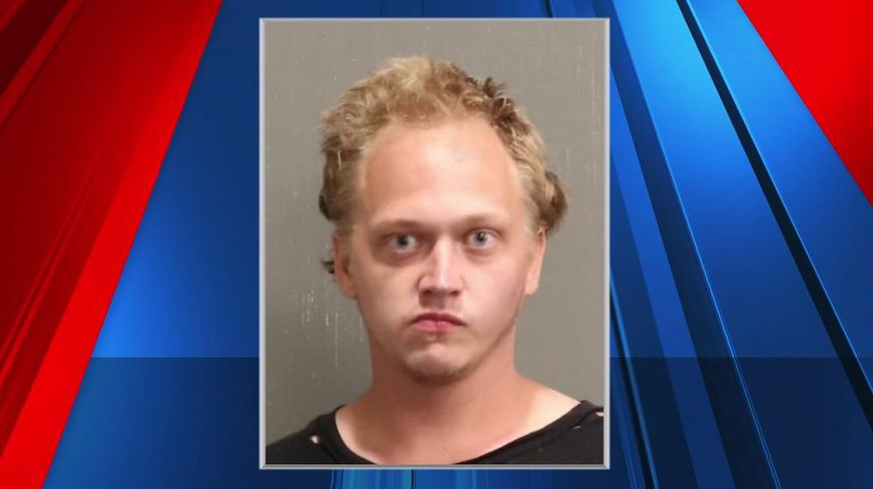 Cody Eakes, 28, is charged with carjacking, kidnapping, assault, theft and leaving the scene of...